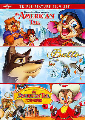 An American Tail / Balto / An American Tail: Fievel Goes West Triple Feature Fil