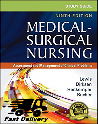 Study Guide for Medical Surgical Nursing 9th Edition Lewis (PDF)