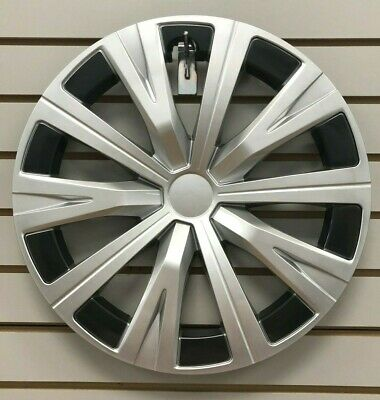 """NEW 16"""" 10-spoke Silver Hubcap Wheelcover Fits 2018 2019 Toyota CAMRY"""