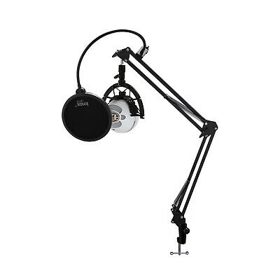 Blue Microphones Snowball iCE Mic w/ Knox Boom Arm, Shock Mount & Pop Filter