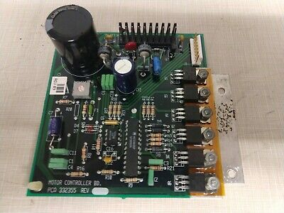 Respironics 332003 St/D Support System Pca 332355 Motor Controller Board Medical