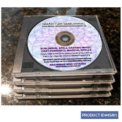 4 CDs WICCA MAGIC Spell Casting Magick Witch Occult Pagan WICCAN MIND TRAINING