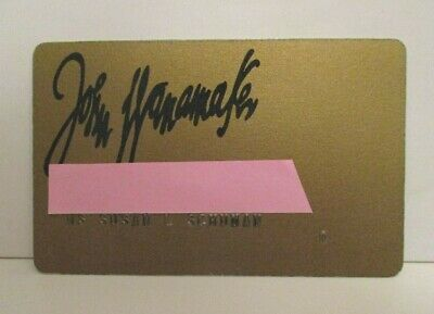 Vintage John Wanamaker Philadelphia Department Store Charge Credit Card
