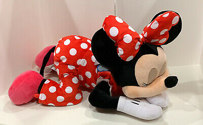 Disney Parks Dream Friends Sleeping Baby Minnie Mouse 18 inch Plush Doll NEW