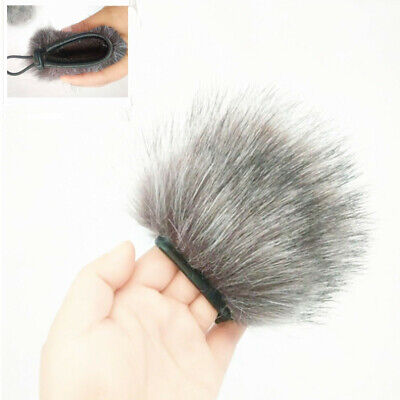 1pc For Zoom H1 Anti-Wind Noise Prevention Microphone Muff Fur Windshield Cover