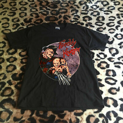 Nightmare On Elm Street 5 Dream Child Vtg Shirt Halloween Freddy Krueger USA Sz