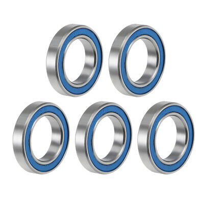6802-2RS Ball Bearing 15x24x5mm Double Sealed ABEC-3 Bearings 5pcs