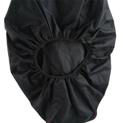 Black Soft Waterproof Oxford Cloth Winch Dust Cover Practical Car Supplies