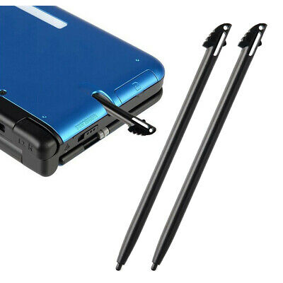 2-Pack Black Plastic Touch Screen Stylus Pen for Nintendo 3DS N3DS XL LL