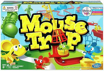 Mousetrap 2+ Players Board Game from Hasbro Gaming