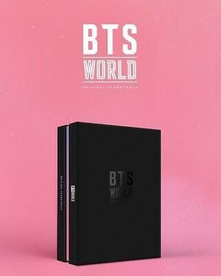 BTS WORLD OST Album CD+POSTER+PhotoBook+Card+Lenticular+Coupon+GIFT K-POP SEALED