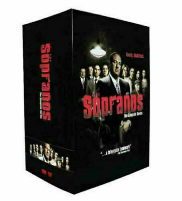 The Sopranos:The Complete Series season 1-6 (DVD, 30-Disc Set)