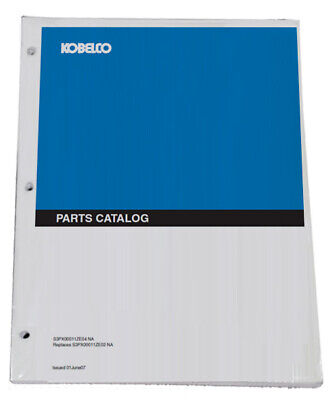 Kobelco MD200BLC Excavator Parts Catalog Manual - Part# S3YQU1001-L