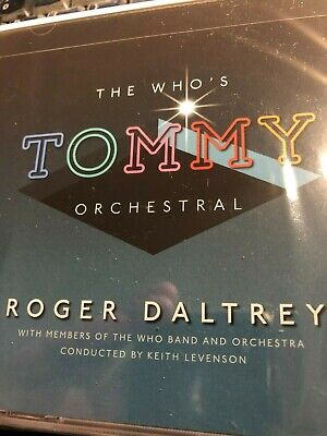 "ROGER DALTREY  The Who's TOMMY ""ORCHESTRAL"" [CD 2019] NEW/Classic Soundtrack/MOD"