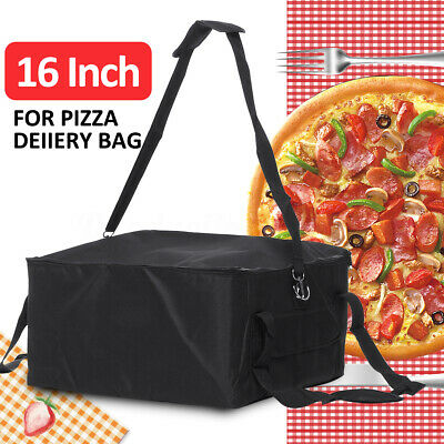 """Takeaway Food Delivery Insulated Thermal Pizza Food Pizza Bag Aluminium Foil 16"""""""