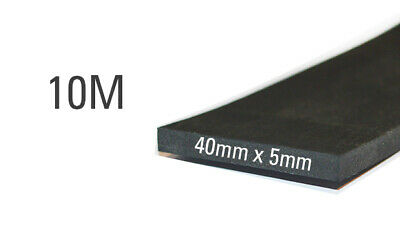 Universal EPDM Profile (Rubber) 40 mm x 5 mm, 10 m roll…
