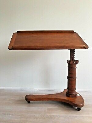 "Antique Victorian Reading Writing Slope Artist Table ""Carters Literary Machine"""