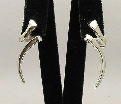 Stylish Sterling Silver Earrings Stamped Solid 925 New Perfect Quality Empress
