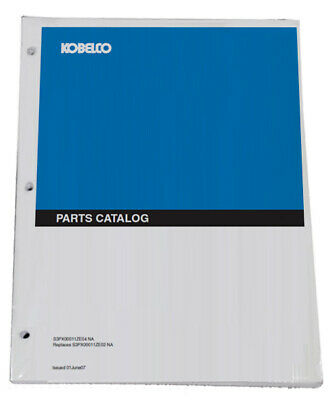 Kobelco SK30SR 2, SK35SR-2 Excavator Parts Catalog Manual - # S3PW00005ZE-02NA