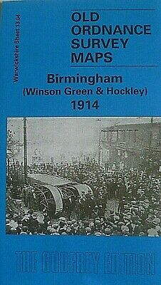 Old Ordnance Survey Maps Birmingham  Winson Green Hockley 1914 Godfrey Edition