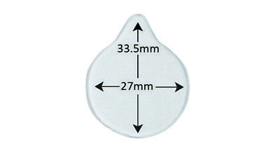 ICOR Silicone Adhesive for Detector Round 27 mm with Drop