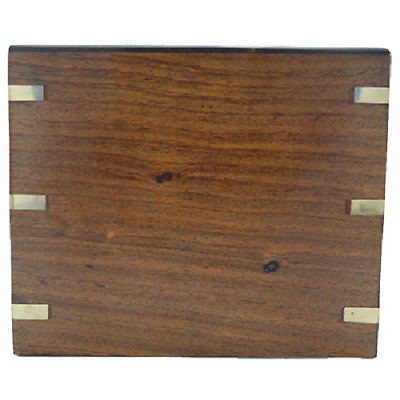 Wood with Brass Hinge, Urn for Human Ashes - Adult, Large Cremation Memorial