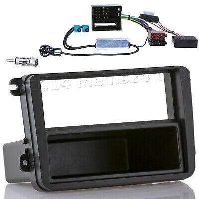 Radio Blende CAN Bus Interface 2 Fakra Antennen MOST Adapter SEAT Leon Alhambra