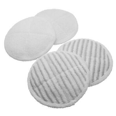 4x Microfiber pads for Bissell 20522 SpinWave, 2131