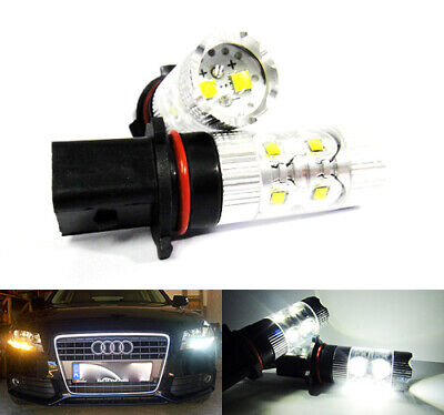 5 LED X-Treme High Power 15cm DRL Lights Lamps Daytime Auto Switch For VW Models