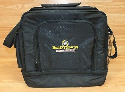 Hungry Howies Flavored Crust Pizza Logo Insulated Multi Pocket Bag w/ Strap