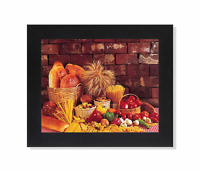 Bread Loaves Pasta Peppers Onions Kitchen Photo Wall Picture 8x10 Art Print