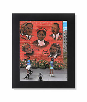Black Historical Civil Rights Leaders Wall Picture 8x10 Art Print