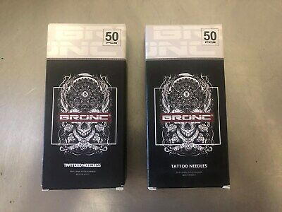 BRONC TATTOO NEEDLES 50 1003RL and 50 1207RM NEW in BOX!!!