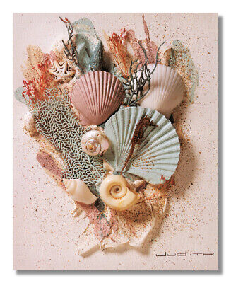Ocean Starfish Sea Shell Beach Bathroom # 2 Wall Picture 8x10 Art Print