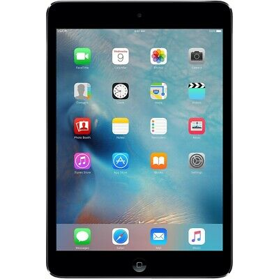 Apple iPad Mini 2 Wi-Fi + Cellular -16GB 32GB 64GB 128GB - Space Gray - Silver