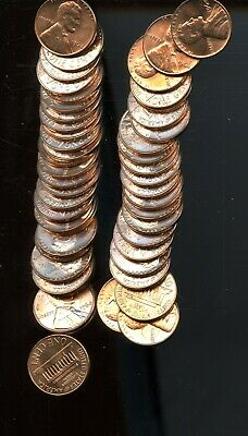 Roll (50) 1964 United States Lincoln Memorial Cents (50 Coins) BI94