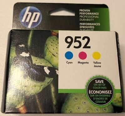 HP 952 Color 3PK NEW GENUINE Ink Cartridges For Officejet 8710 8210 8720 8730