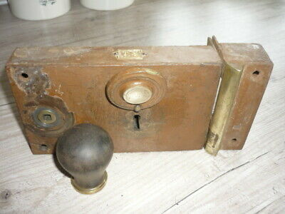 Antique ? Reclaimed FRENCH heavy door lock TS 1st. Qualite