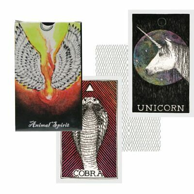 5 style mysterious tarot cards animal nature tarot deck board game for women