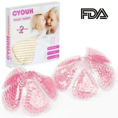 CYOUH Breast Therapy Soothing Hot &Cold Breastcare Thermo pad, Best for...