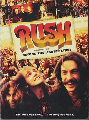 RUSH : Beyond the Lighted Stage (DVD, 2010, Canadian) BRAND NEW