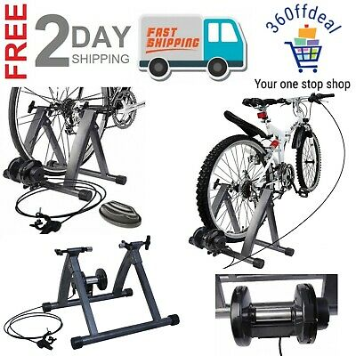 Magnetic Exercise 5 Level Of Resistance Indoor Bicycle Trainer Stand For Workout