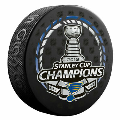 St. Louis Blues 2019 Stanley Cup Champions Hockey Puck Brand New