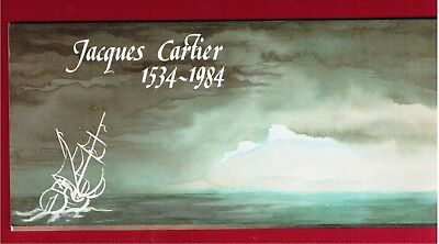 1984 Thematic Collection # 23 Canada Stamps 1011  Jacques Cartier 1534 1984