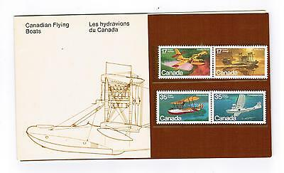 1979 Canada Stamps & Pocket Thematic Collection #  14  Cnd Flying Boats