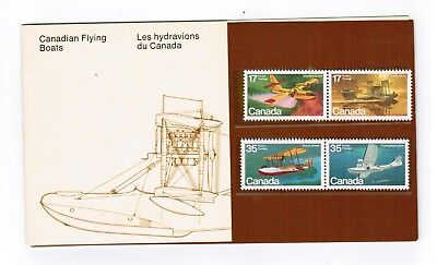 1979 THEMATIC COLLECTION # 14 CANADA STAMPS # 843  to 846  AIRCRAFT FLYING BOATS