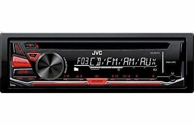 JVC KD-R370 Single DIN in-Dash CD/AM/FM/Receiver with Detachable Faceplate
