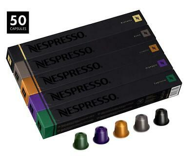 Nespresso - Lot de 50 capsules originales - References mixtes