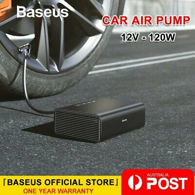 Baseus Intelligent Car Air Compressor Portable Tyre Inflatable Pump Inflator