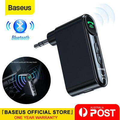 Baseus Bluetooth 5.0 Audio Music Receiver Wireless 3.5mm AUX Home Car Adapter
